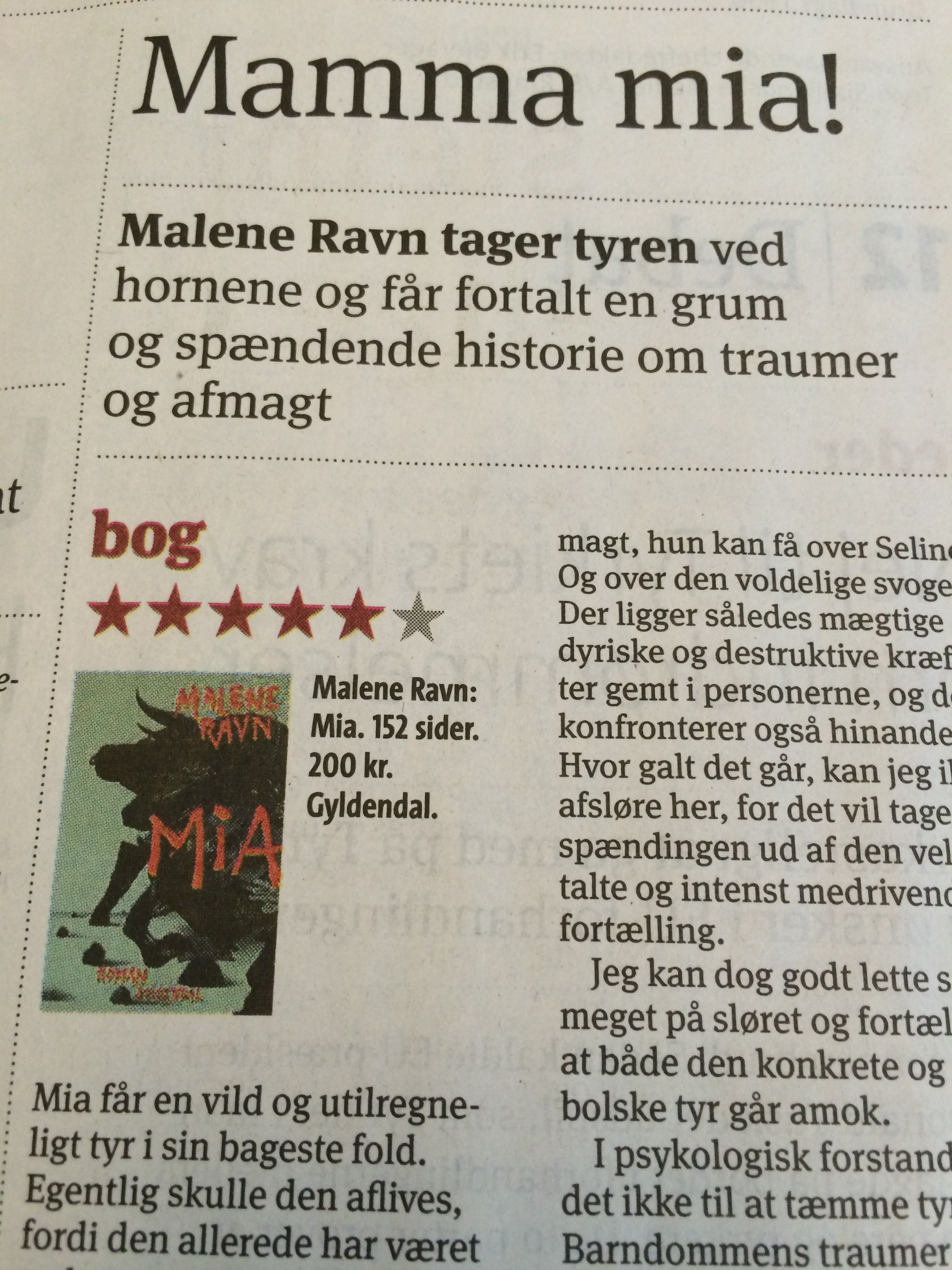 Malene Ravn Mia Kr Dagblad